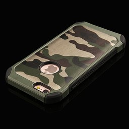iPhone 5/SE Army  camouflage groen