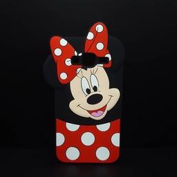 Samsung Galaxy J3 (2016) siliconen hoesje Minnie Mouse