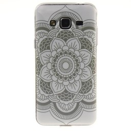 Samsung Galaxy J3 (2016) TPU hoesjes Flower