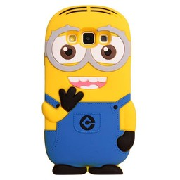 Samsung Galaxy J3 (2016) siliconen hoesjes Minion