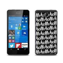 Microsoft Lumia 650 hoesje HELLO