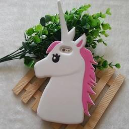 Iphone 5 (S) en 5C Unicorn Wit