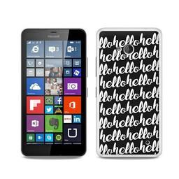 Microsoft Lumia 640 hoesje  HELLO