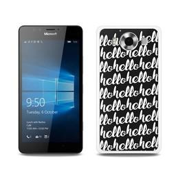 Microsoft Lumia 950 hoesje HELLO