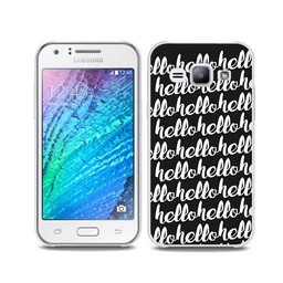 Samsung Galaxy J5 TPU Hoesje HELLO