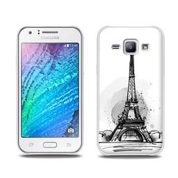 Samsung Galaxy J1 TPU Hoesje PARIS