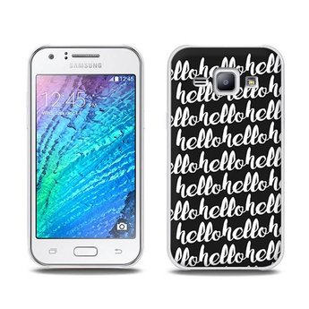 Samsung Galaxy J1 TPU Hoesje HELLO