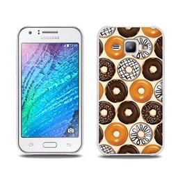 Samsung Galaxy J1 TPU Hoesje DONUT
