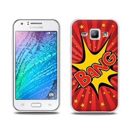 Samsung Galaxy J1 TPU Hoesje BANG