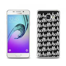 Samsung Galaxy A3 (2016) TPU Hoesje HELLO