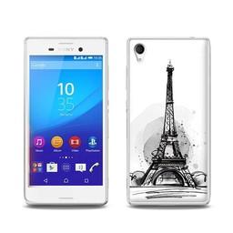 Sony Xperia M4 Aqua TPU Hoesje PARIS