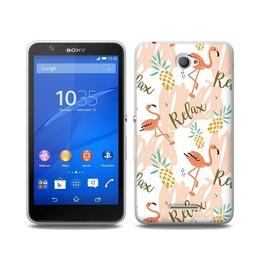 Sony Xperia E4 TPU Hoesje RELAX