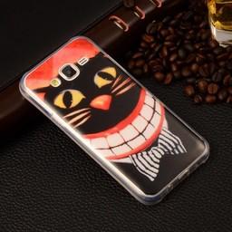 Samsung Galaxy J5 (2016) TPU Hoesje smiling Cat
