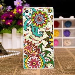 Sony Xperia AX TPU Hoesje FLOWER