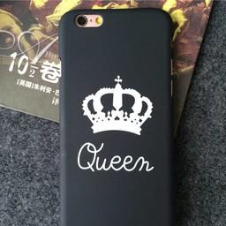 iPhone 6/6s (4,7 inch) Hard pvc hoesjes Queen