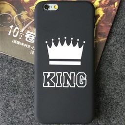 iPhone 5/5s (4,7 inch) Hard pvc hoesjes King