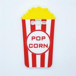 Samsung Galaxy J5 Siliconen hoesje Popcorn