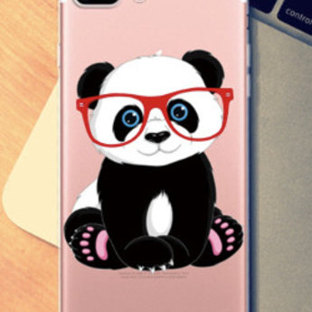 Iphone 5  TPU hoesje Panda