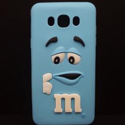 Samsung J1 Ace M&M Blauw