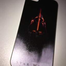 Iphone 5 Star Wars Zwart