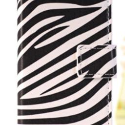 Iphone 6 flip case Zebra