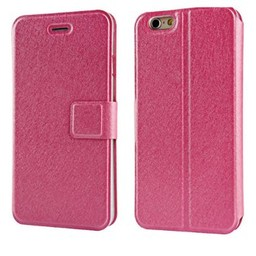 Iphone 7 flip case Roze