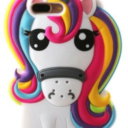Samsung S6 Unicorn Regenboog kleuren