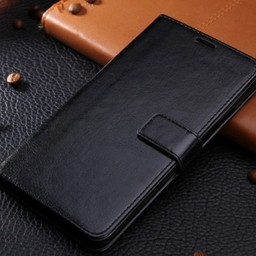 Samsung Galaxy J3 2017 Zwart/Black Wallet