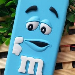 iPhone 8 M&M Blauw
