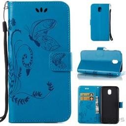 Samsung Galaxy J3 2017 Blauw Wallet