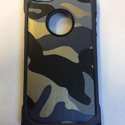 iPhone 6 Army  camouflage zwart grijs