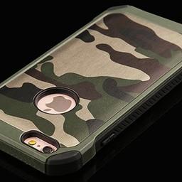 iPhone 6 Army  camouflage zwart groen