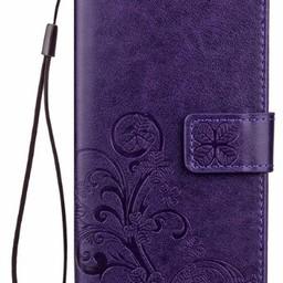 Samsung Galaxy J7 2017 Paars Wallet