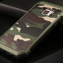 Samsung Galaxy S6 Army Camouflage Groen