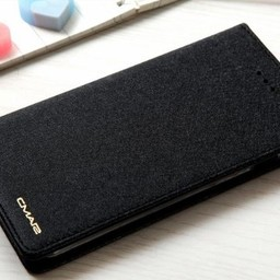 Iphone 8 Wallet  Leer Zwart