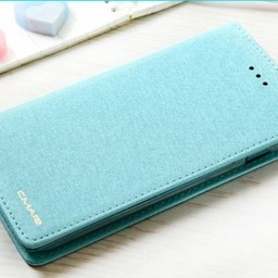 Iphone 8 Wallet  Leer Blauw