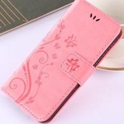 Iphone X Wallet  Leer rose