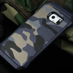 Samsung Galaxy S6 Army Camouflage  Grijs