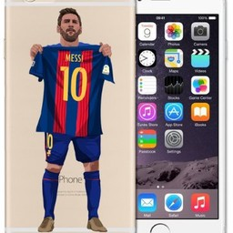 iPhone 6 Messi