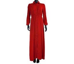 Maxi jurk Yale 061 rood