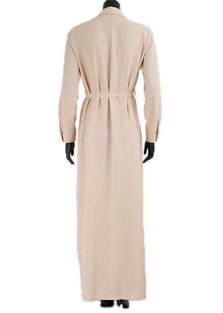 Maxi jurk cypress creme