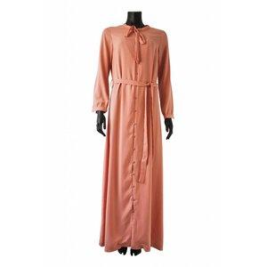 099 Maxi jurk pietra roze