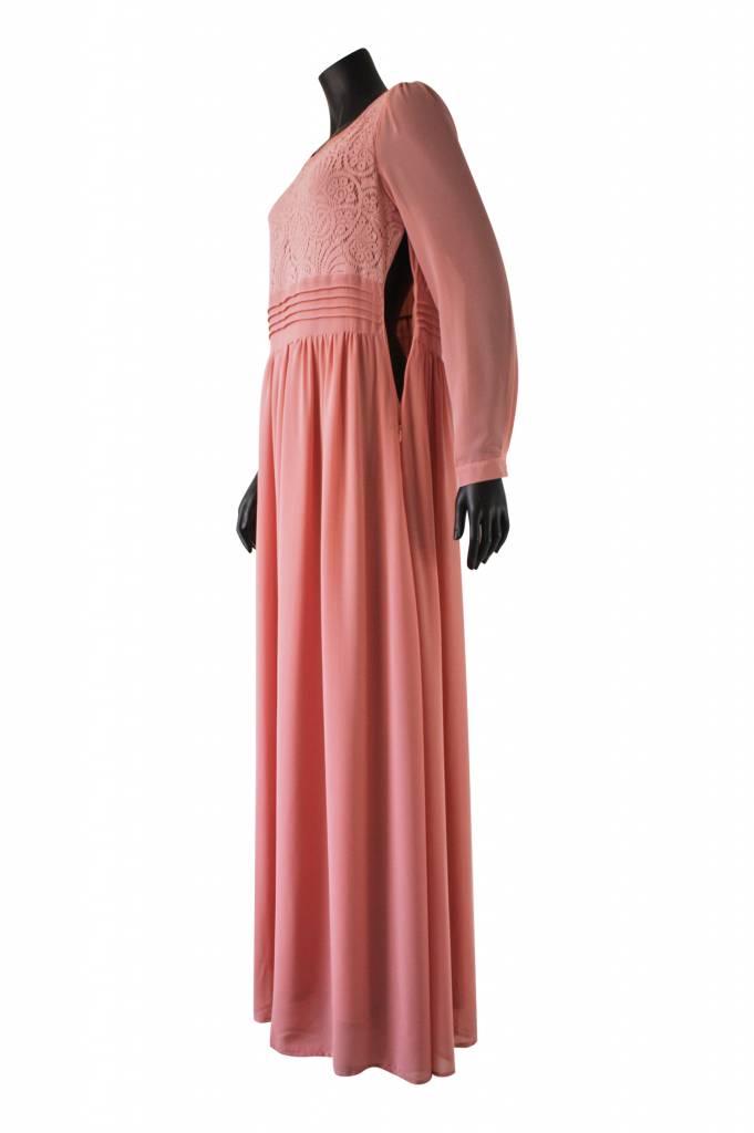 Maxi jurk milazo roze