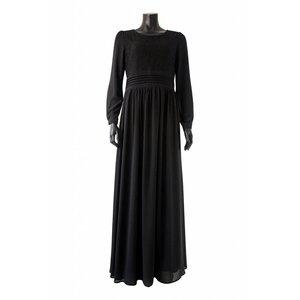 112 Maxi jurk milazo zwart