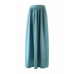 Maxi rok monica lichtblauw