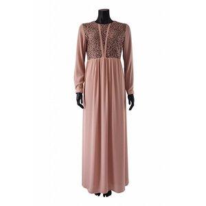 140 maxi jurk carrara roze