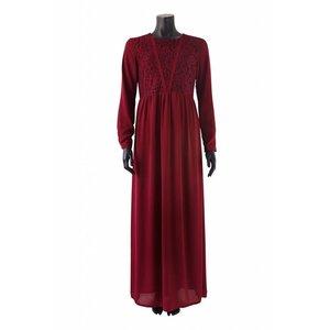 Maxi jurk carrara bordeaux