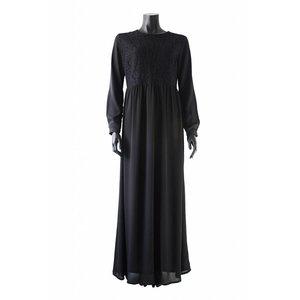 140 maxi jurk carrara zwart