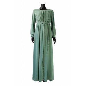 087 maxi jurk palmdale mint