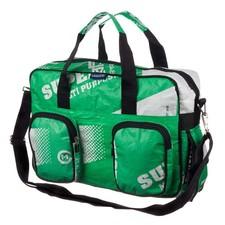 Green diaper bags